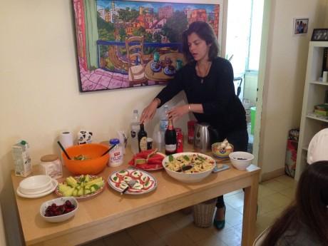 סדנת מתחיליםות + ארוחה איטלקית