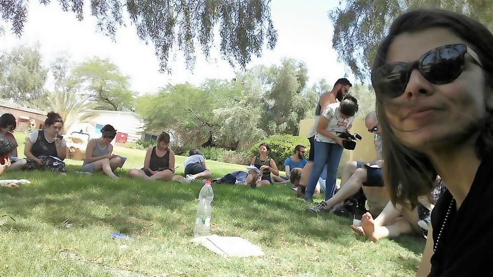 מפגש השראה עם סטודנטיםות לקולנוע במסגרת פסטיבל סרטי הסטודנטיםות הבינלאומי
